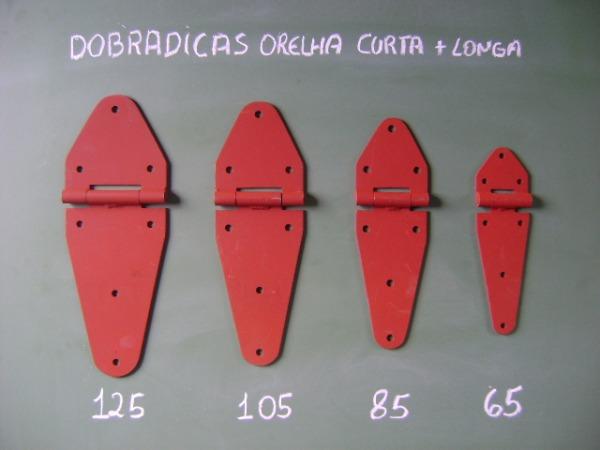 DOBRADIÇA ORELHA CURTA /LONGA