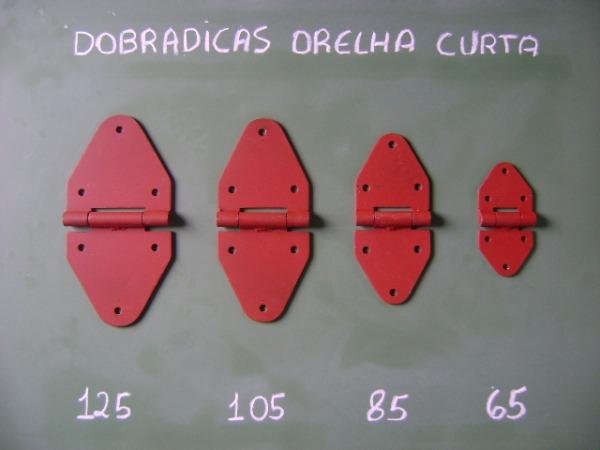 DOBRADIÇA ORELHA CURTA